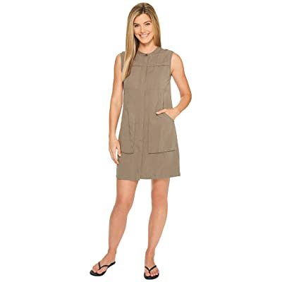 NAU Flaxible Sleeveless Dress (Sable) Women