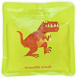 [クロコダイル クリーク]Crocodile Creek Kids Eco Reusable Dinosaur TRex Ice Packs for Lunch Boxes , Green, 5 6522-6 [並行輸入品]