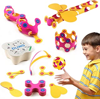 Clixo Itsy Magnetic Toy for Kids - Flexible, Durable, Imagination-Boosting Magnet Building Toy. An Educational Multi-Senso...