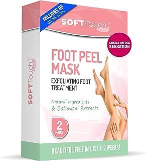 Foot Peel Mask – 2 Pack of Peeling Booties – Natural Foot Care Exfoliating Treatment Repairs Cracked Heels, Calluses & Rem...