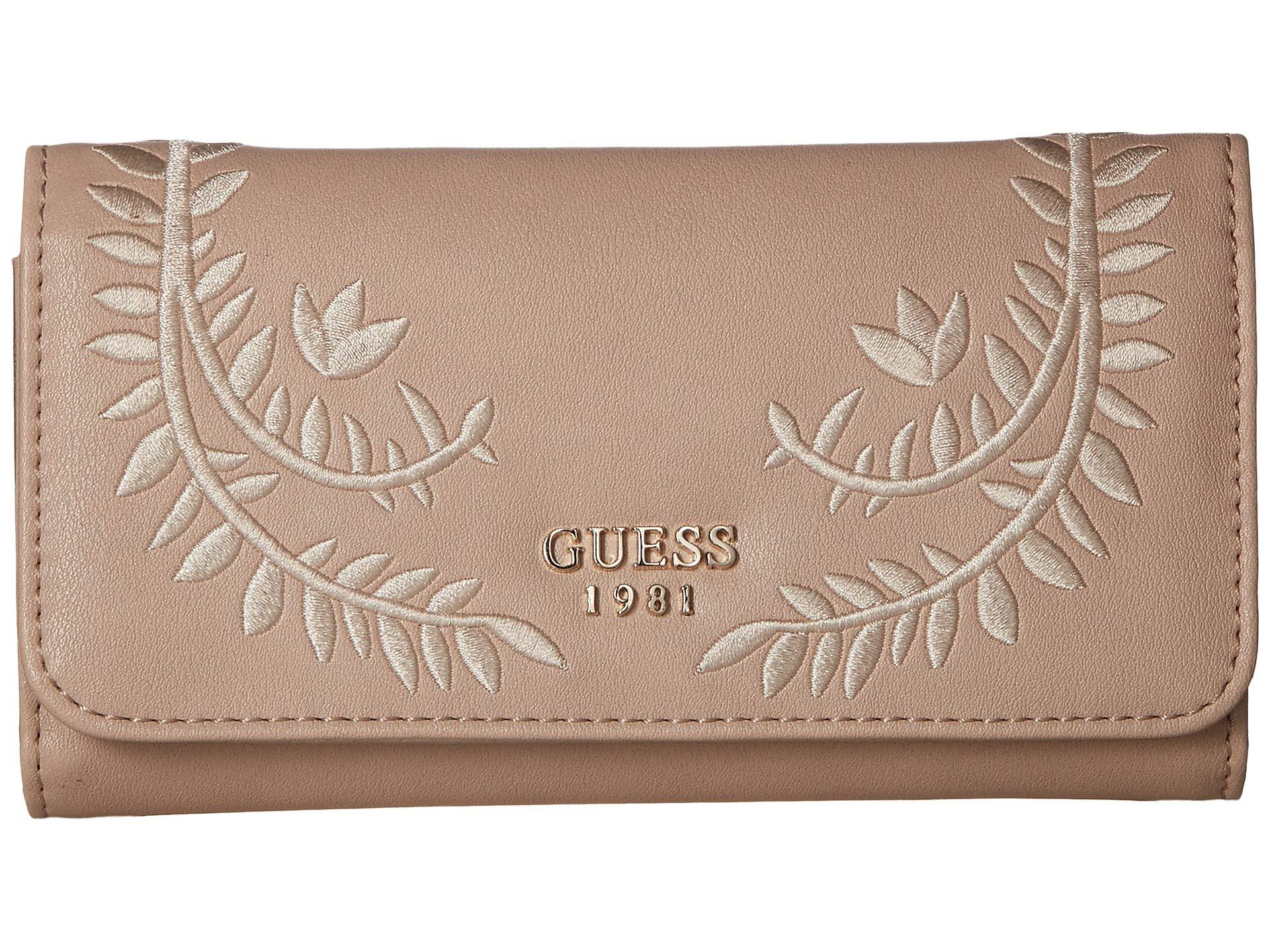 Billetera para Mujer GUESS Nessa SLG Slim Clutch  + GUESS en VeoyCompro.net