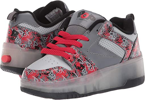 Charcoal/Grey/Red