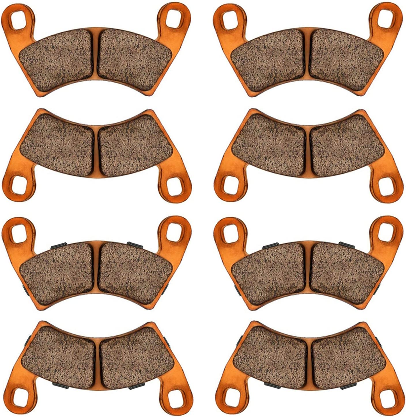 Surprise price Brake Pads for Polaris RZR S 900 Set 2015-2019 4 R EPS Very popular! and Front