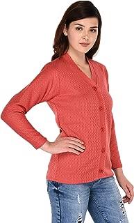 eWools Woolen Women Ladies Girls Winter Wear Button Tops Bestselling Sweaters Cardigans