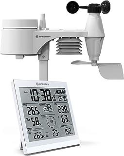 Bresser 7002590 - Estación meteorológica con Sensor Exterior 5 en 1, Color Blanco