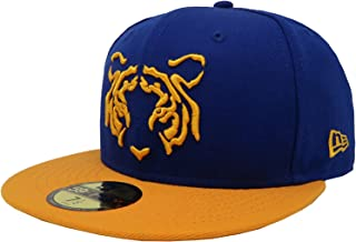 New Era 59Fifty Hat Tigres De Monterrey Soccer Club Liga MX Blue/Gold Headwear Cap