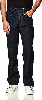 سروال رجالي طويل من SouthPole مصنوع من نسيج تويل سميك وتصميم مستقيم