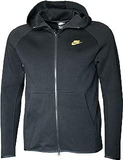 Men's Tech Fleece Full-Zip Hoodie Black/Gold
