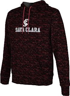 Santa Clara University Men's Pullover Hoodie, School Spirit Sweatshirt (Brushed)