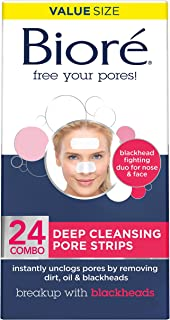 Biore Deep Cleansing Pore Strips, 24 Count
