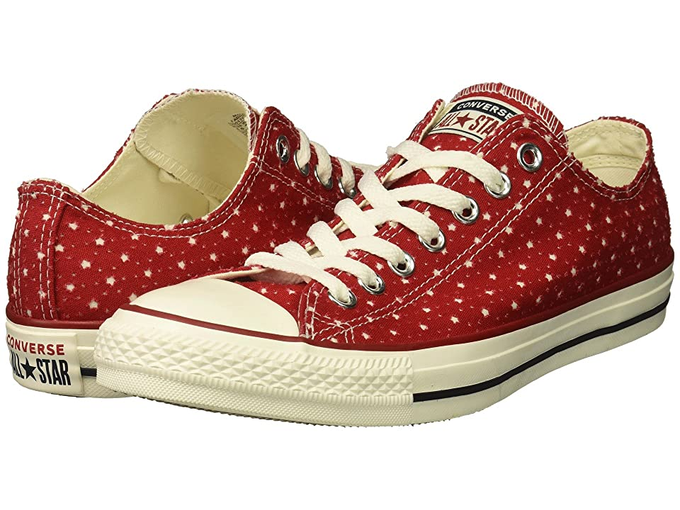 Converse Chuck Taylor(r) All Star(r) Ox Perf Stars (Gym Red/Garnet/Athletic Navy) Classic Shoes