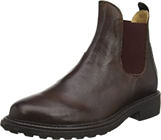 Mens H by Hudson Caslon Calf Suit Work Office Casual Leather Ankle Boots