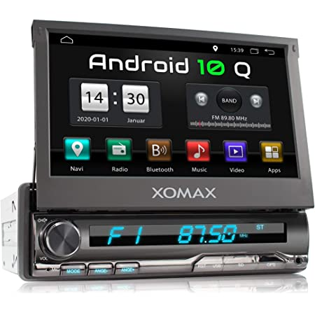 Xomax Xm Da759 Autoradio Mit Android 10 Quadcore 2gb Elektronik