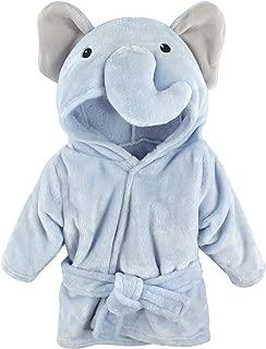 Hudson Baby Unisex Baby Plush Animal Face Robe, Blue...