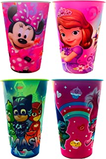 NEW Children's Character Designed Collectable Cups, Characters Included Are Trolls, Frozen, Minnie Mouse & Sofia The First