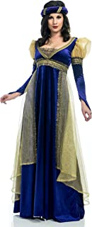 Charades Women's Renaissance Lady Costume Dress