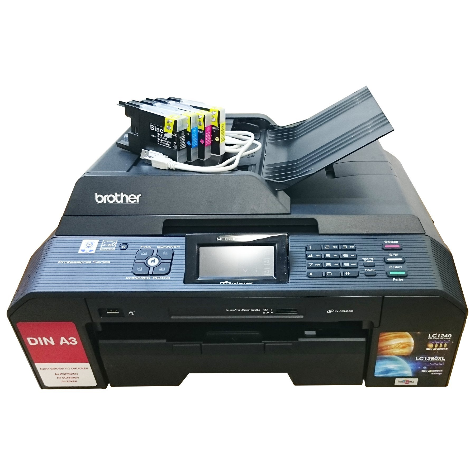 Brother MFC-J5910DW WLAN A3 multifunción Fax, escáner ...