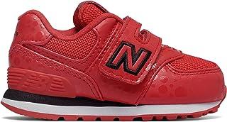 (ニューバランス) New Balance 靴?シューズ キッズランニング 574 Disney Red with Black レッド ブラック US 9 (15.5-16cm)