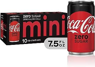 Coke Zero Coca-Cola Zero Sugar, 7.5 fl oz, 10 Pack, Coca-Cola Zero Sugar, 7.5 fl. oz. (Pack of 10)