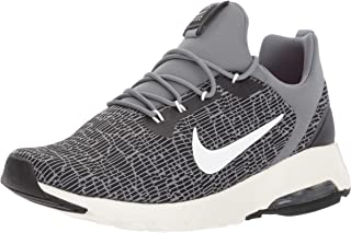 Nike Womenโ€™s Damen Air Max Motion Racer Running Shoes, Black/Sail-Cool Grey