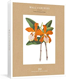Wall of Orchids: 20 Rare Botanical Prints to Frame (New York Botanical Garden)