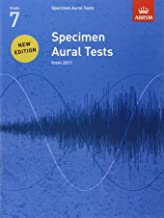 Specimen Aural Tests, Grade 7: new edition from 2011 (Specimen Aural Tests (ABRSM))