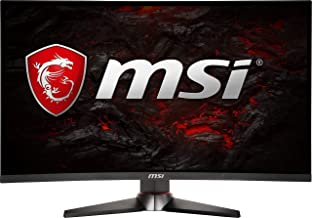 "MSI Full HD Non-Glare 1ms 1920 x 1080 144Hz Refresh Rate USB/DP/HDMI FreeSync 24""Gaming Curved Monitor (Optix MAG240CR) - ..."