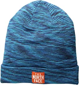 ba4d967afd3 The north face womens fuzzy cable beanie kodiak blue vintage white ...