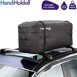 from 07 Roof Box VDPJUXT600 600 Litres Lockable 5 Door Roof Rack VDPLION2 Compatible with Land Rover Freelander 2