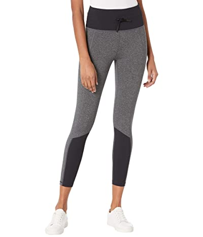 RVCA Sport Rib Leggings (Heather Grey) Women