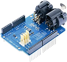 DMX Shield MAX485 Chipset for Arduino (RDM Capable)@CQRobot, Arduino Device into DMX512 Network. LED/Music Remote Device Management Capable, Extended DMX Master and Slave Arduino Device Functions.