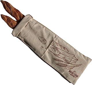 Bolsa de lino para pan, 8 x 27 pulgadas, ideal para pan