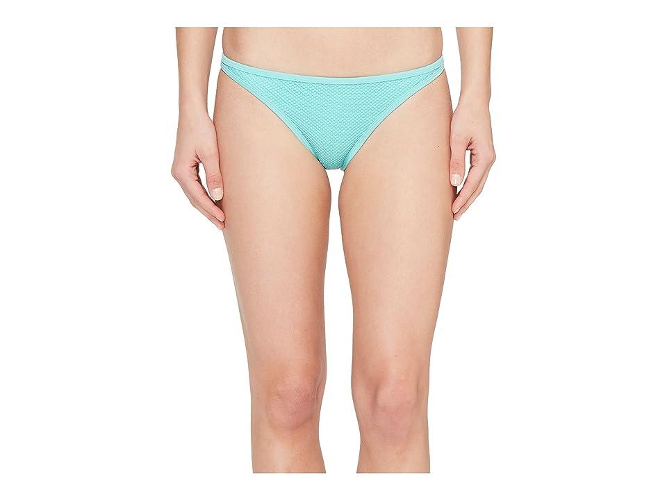 Roxy Ready Made Reversible Surfer Bikini Bottom (Pool Blue) Women
