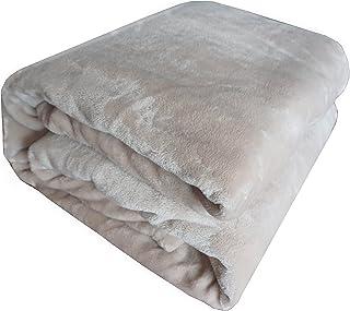 Super suave y cálida sólidos micro felpa manta de forro