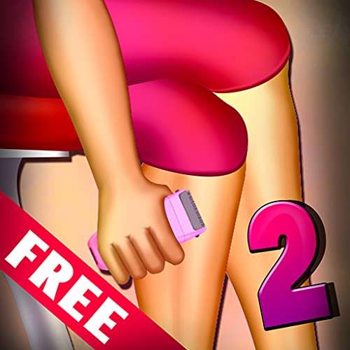 Women Leg Shaving 2 : The Soft Skin Shave Girl Beauty Spa Time - Free Edition