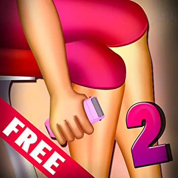 Women Leg Shaving 2   The Soft Skin Shave Girl Beauty Spa Time - Free Edition