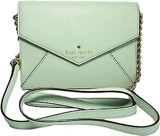 Kate Spade New York Cedar Street Monday Mintmojito Envelop Crossbody Mini Bag