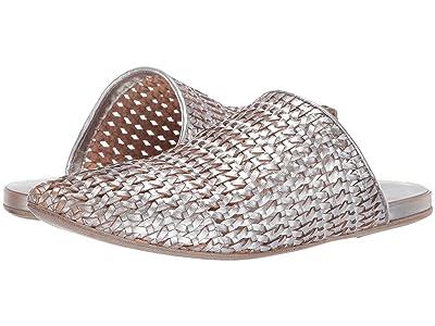 Marsell Metallic Woven Mule (Metallic Silver) Women