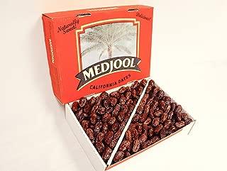 Large Medjool Dates FRESH, Fancy, California Grown Packed Fresh, juicy (11 pounds)