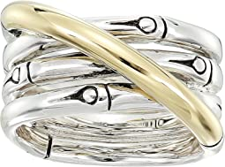 Bamboo 14mm Band Ring