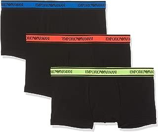 Emporio Armani Men's Stretch Cotton 3-Pack Trunk