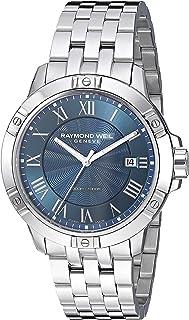 ساعة ريموند ويل للرجال انالوج بعقارب كوارتز مع حزام من الستانليس ستيل، فضي، 19.3 (8160-ST-00508)