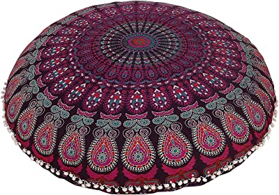 Amazon.com: Mandala Life ART Bohemian Yoga Decor Floor ...