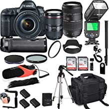 Canon EOS 5D Mark IV with 24-105mm f/4 L is II USM + Tamron 70-300mm + 128GB Memory + Canon Camera Bag + Pro Battery Bundl...