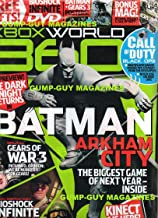 XBOX World 360 UK #99 Magazine &DVD BIG PREVIEW! THE DARK KNIGHT RETURNS IN BATMAN ARKHAM CITY High Definition Bioshock In...