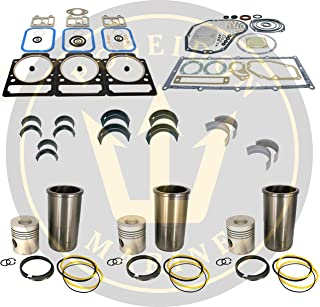 Poseidon Marine Engine Overhaul kit for Volvo Penta MD17 Replaces 875549 875550 876380 876383 875491