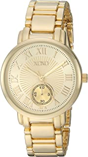 XOXO Womens Quartz Watch, Analog Display and Gold Plated Strap XO200