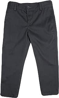 Armando Martillo Boys Brushed Cotton Flat Front Adjustable Waist Pants
