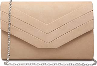 Dasein Women's Evening Bags Formal Party Clutches Wedding Purses Cocktail Prom Handbags
