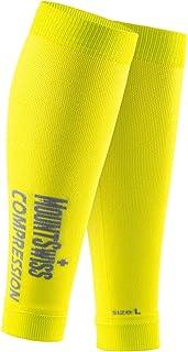 Mount Swiss© medias de compresión de pantorrillas sin pie / vendaje para pantorrillas / calzas